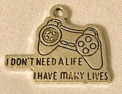 1812. Video Game Controller Pendant