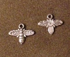 1070. 2 sided Bee Pendant