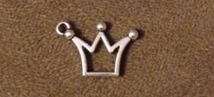 628. Hollow Crown Pendant