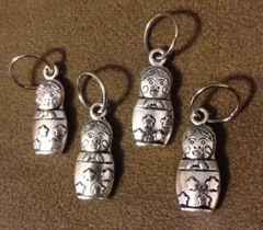 220. Russian Stacking Doll Pendant