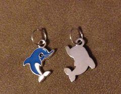 515. Blue Enameled Dolphin