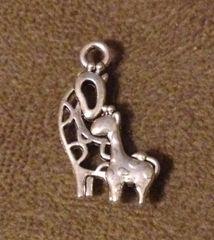 881. 2 Giraffe Pendant