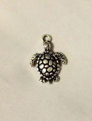 573. 1 sided Sea Turtle Pendant