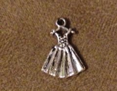 637. Dress on Hanger Pendant
