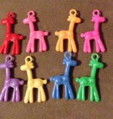 794. Acrylic Giraffe Pendant