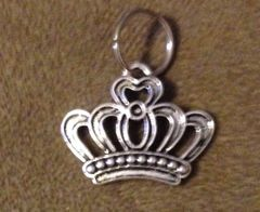 631. Silver Royal Crown Pendant