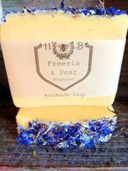 Freesia and Pear Handmade Soap