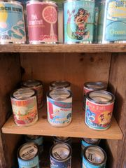 Surf's Up Beachy Scented Pain Can Soy Candles