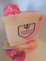 Pink Mimosa Handmade Soap