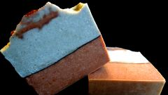 All Natural Chocolate Mint Soap made with Buttermilk
