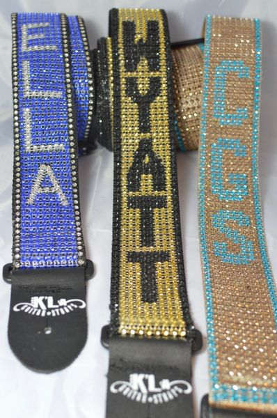 Personalized NAME Strap