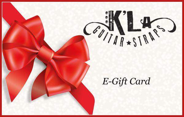 K'LA STRAP GIFT CARD