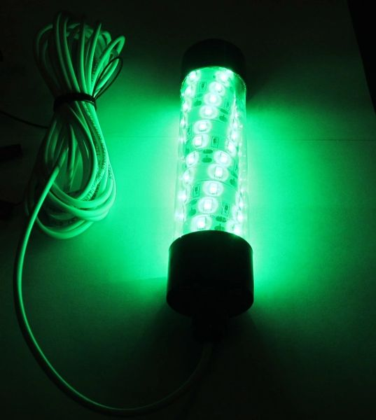 Enjoyable 12V Led Green Underwater Submersible Night Fishing Light Crappie Wiring 101 Breceaxxcnl