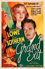Grand Exit (1935) DVD