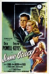 Johnny O'Clock (1944) DVD