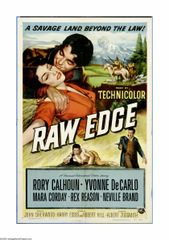 Raw Edge (1956) DVD