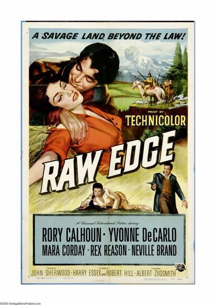Raw Edge (1956) DVD