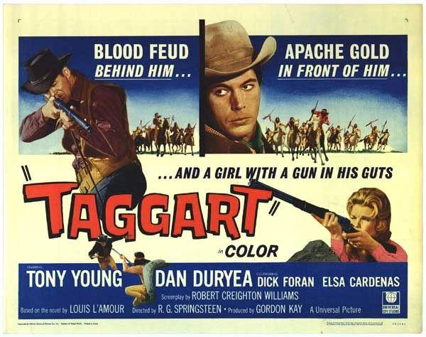 Taggart (1964) Tony Young, Dan Duryea, Dick Foran