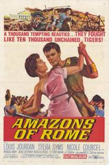 Amazons of Rome Louis Jourdan, Sylvia Syms (1963) DVD