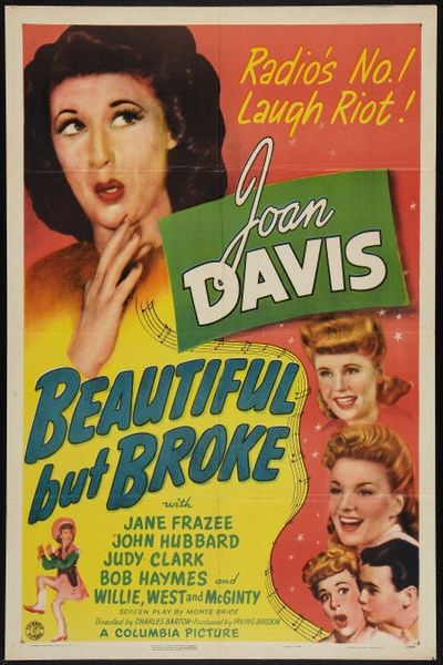 Beautiful But Broke (1944) DVD
