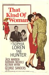 That Kind of Woman (1959) Sophia Loren, Tab Hunter, George Sanders, Jack Warden