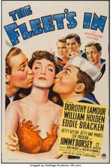 Fleet's In (1942) William Holden, Dorothy Lamour, Betty Hutton