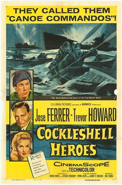 Cockleshell Heroes (1955) DVD