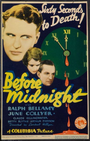 Before Midnight (1933) DVD
