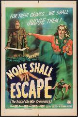 None Shall Escape (1944) DVD