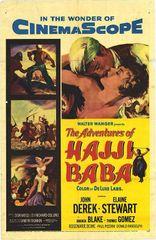 Adventures of Hajji Baba John Derek, Elaine Stewart, Amanda Blake (1954) DVD