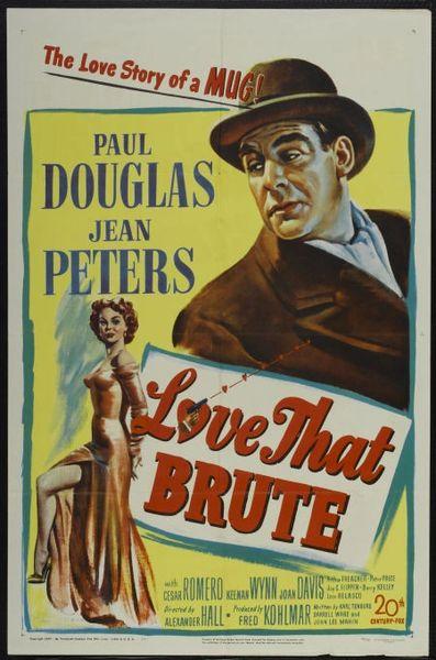 Love That Brute (1950) DVD