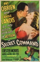 Secret Command (1945) DVD