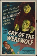Cry of the Werewolf (1944) DVD