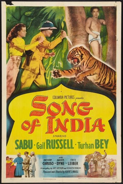 Song of India (1949) DVD