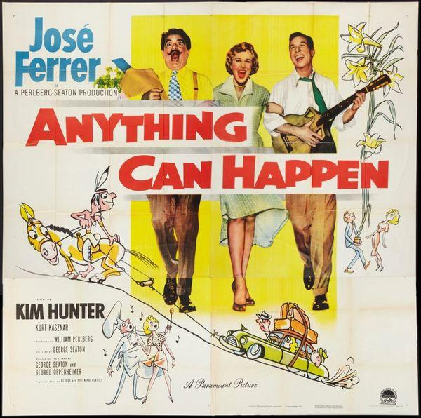 Anything Can Happen Jose Ferrer, Kim Hunter (1952) DVD
