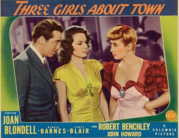 Three Girls About Town (1941) DVD