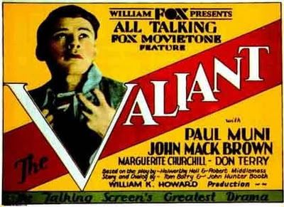 Valiant (1929) Paul Muni, Marguerite Churchill, Johnny Mack Brown