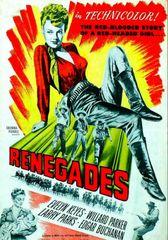Renegades (1946) DVD