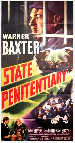 State Penitentiary (1950) DVD