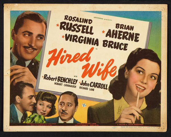 Hired Wife (1940) DVD