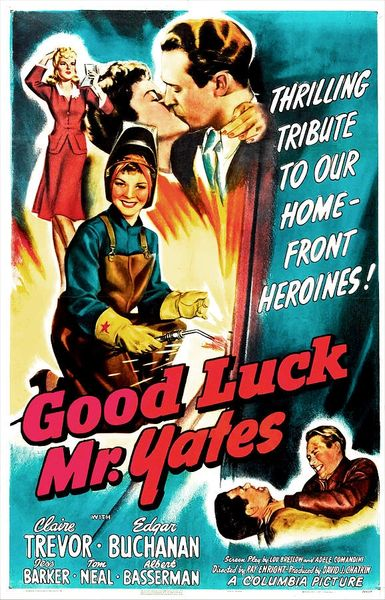 Good Luck Mr. Yates (1943) DVD