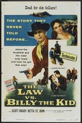 Law vs. Billy the Kid Scott Brady, Betta St. John, Benny Rubin, Alan Hale/DVD /1954
