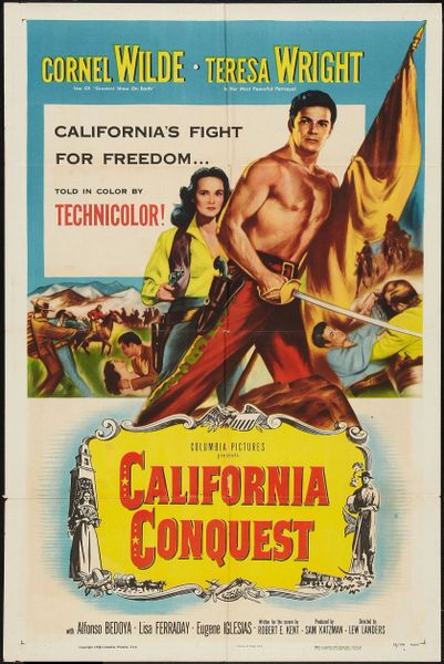 California Conquest (1952) DVD