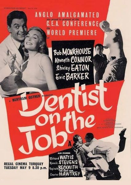 Dentist on the Job - Bob Monkhouse, Kenneth Connor, Shirley Eaton (1961)