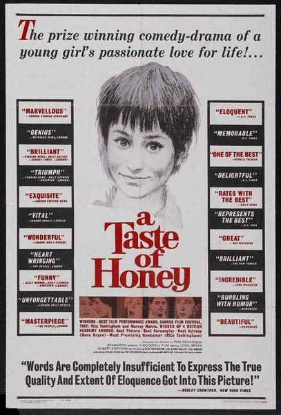 A Taste of Honey Rita Tushingham, Dora Bryan, Robert Stephens (1961) DVD