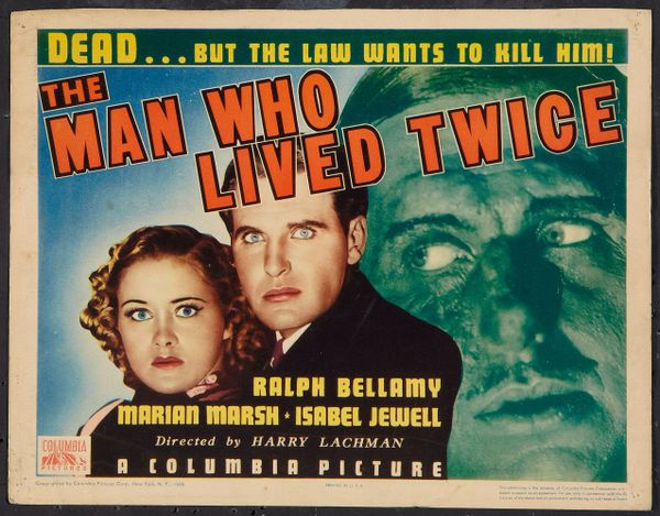 Man Who Lived Twice (1936) DVD