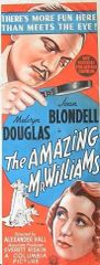The Amazing Mr. Williams (1939) DVD