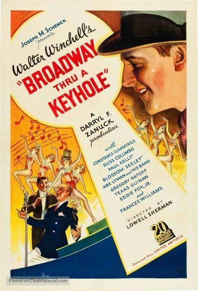 Broadway Thru a Keyhole (1933) Constance Cummings, Russ Columbo, Paul Kelly, Texas Guinan