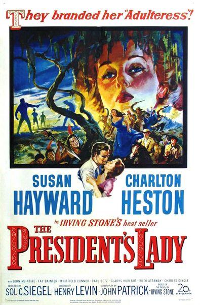 President's Lady (1953) DVD