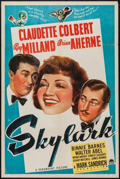 Skylark (1941) DVD